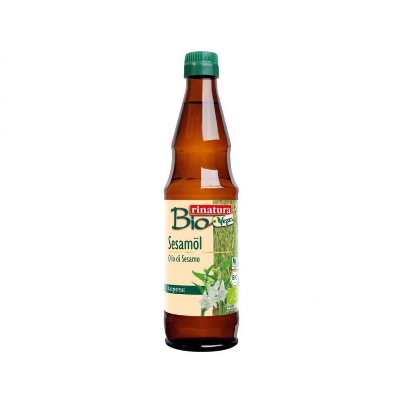 Sezamový olej za studena lisovaný Rinatura BIO - 500 ml