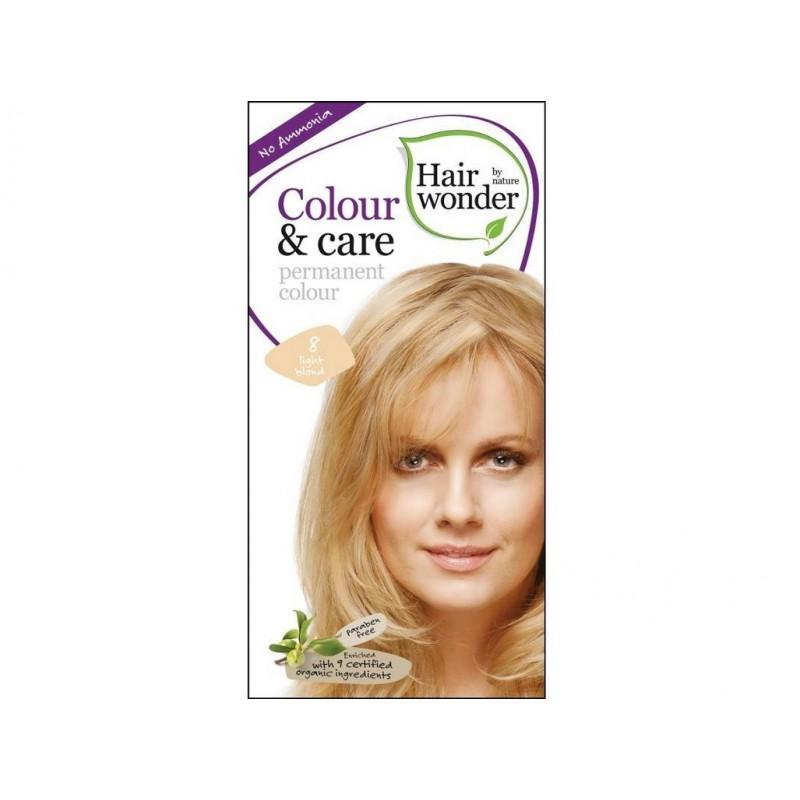 Přírodní dlouhotrvající barva Světlá blond 8 Hair wonder - 100 ml
