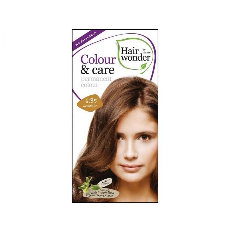 Přírodní dlouhotrvající barva Oříšková 6 +35 Hair wonder - 100 ml