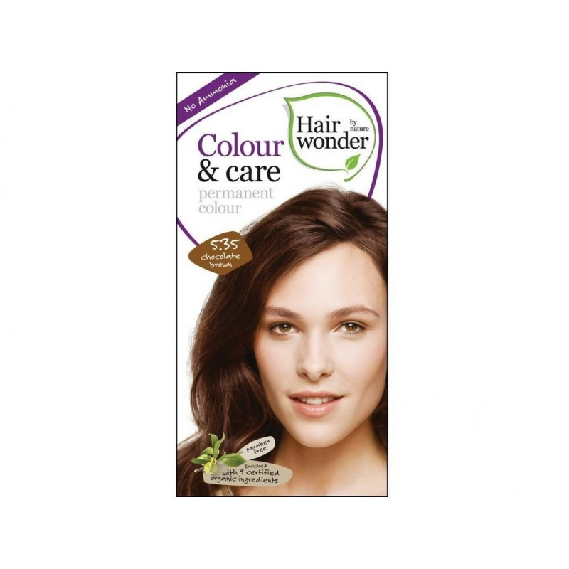 PříroBPí dlouhotrvající barva Čokoládově hnědá 5 +35 Hair wonder - 100 ml