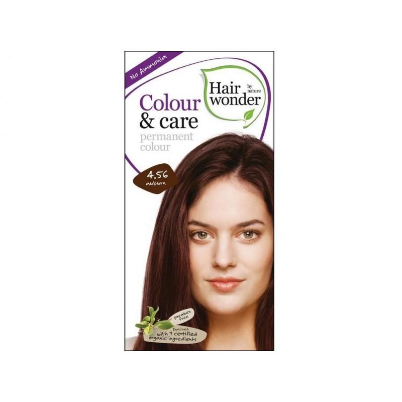 Přírodní dlouhotrvající barva Kaštanová 4 +56 Hair wonder - 100 ml