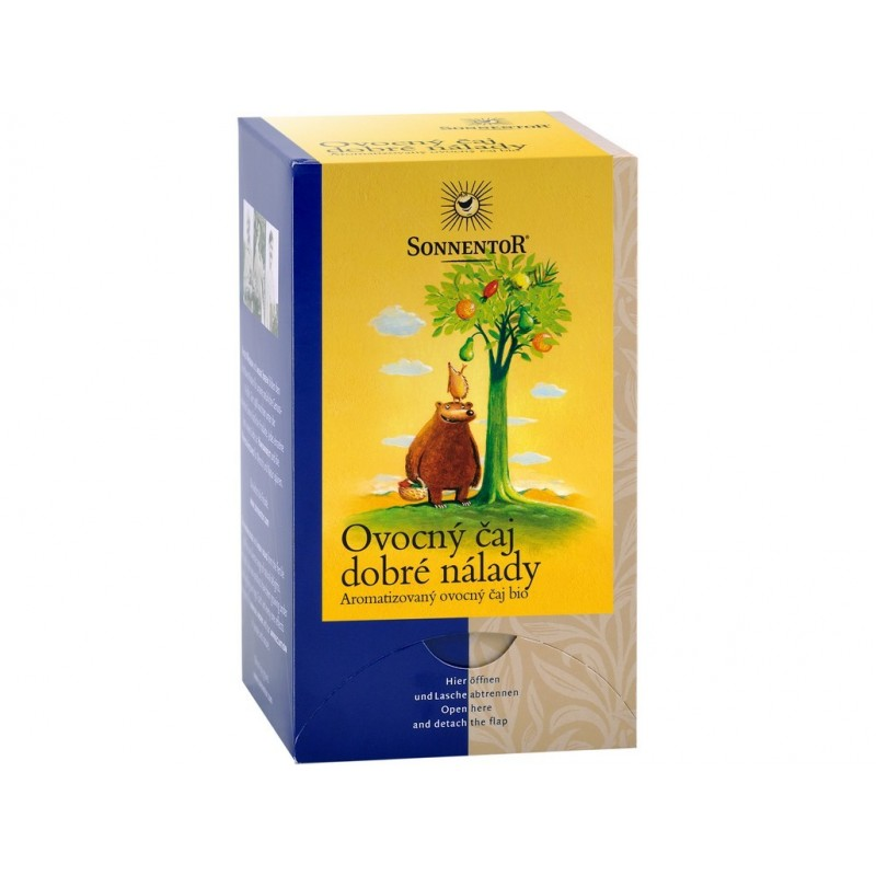 Ovocný čaj dobré nálady Sonnentor BIO - 45 g