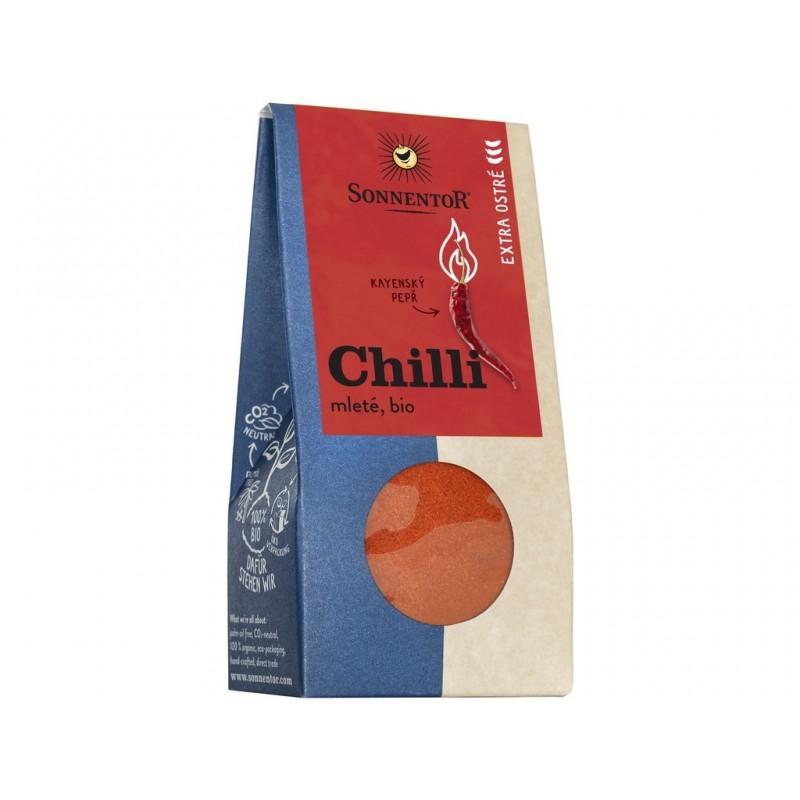 Chilli mleté + extra ostré Sonnentor BIO - 40 g