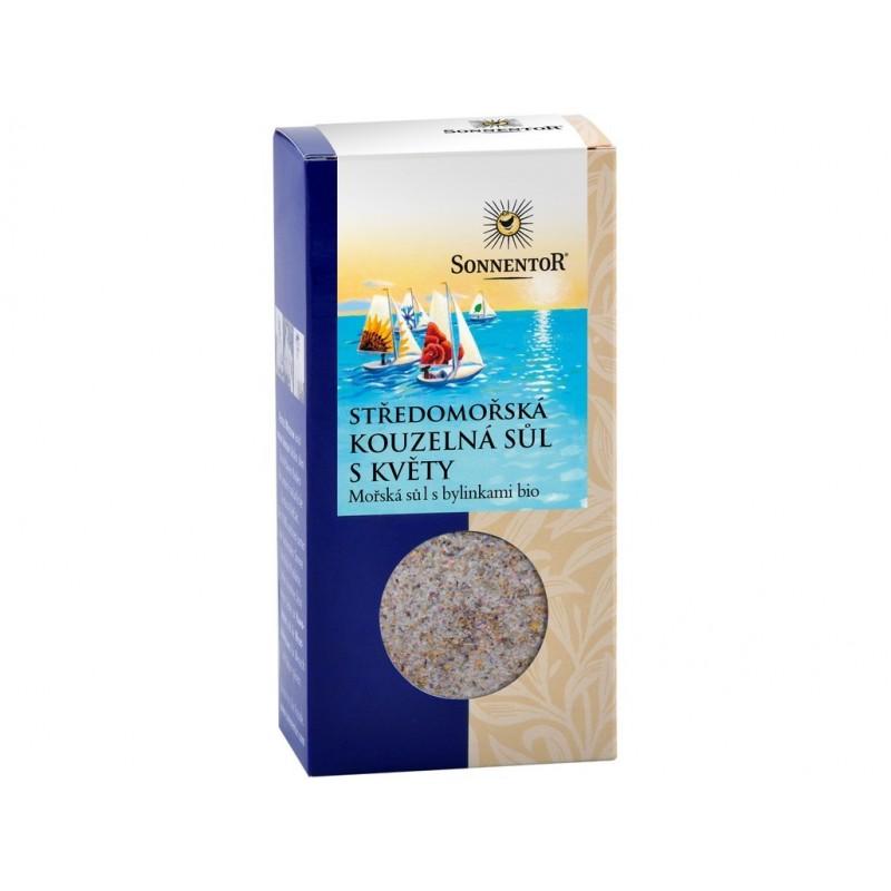 Středomořská kouzelná sůl s květy Sonnentor BIO - 120 g