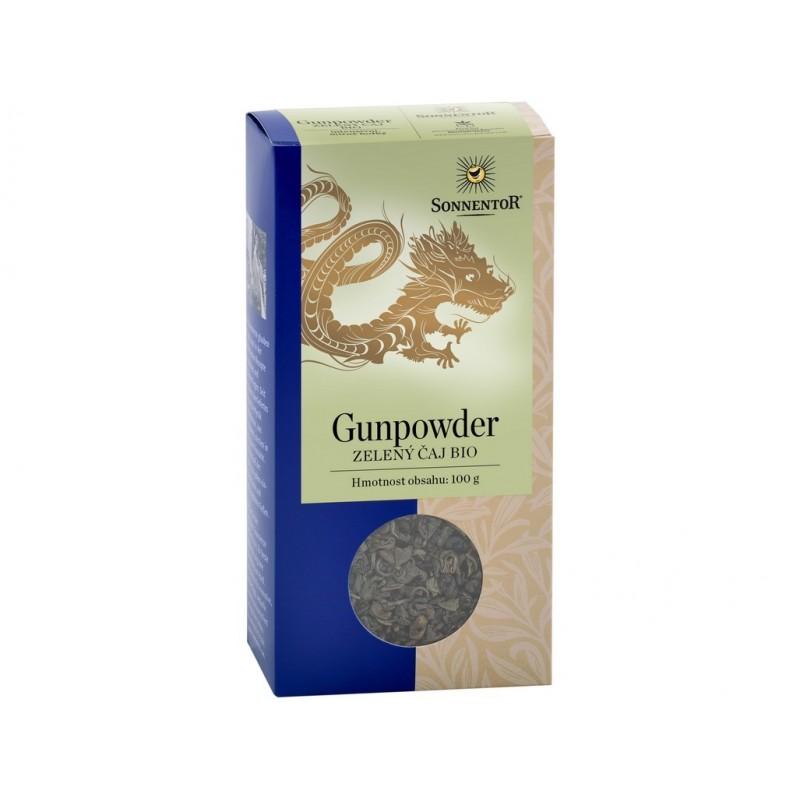 Zelený čaj gunpowder Sonnentor BIO - 100 g