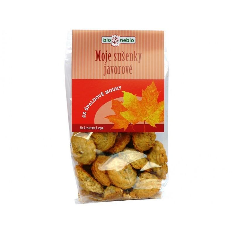 Moje sušenky javorové Bio nebio BIO - 130 g
