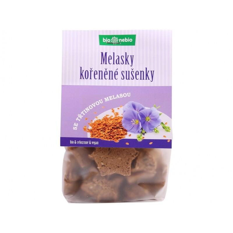Melasky (celozrnné sušenky) Bio nebio BIO - 130 g