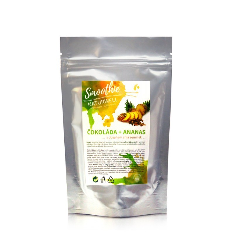 Smoothie Naturwell Ananas a Mango - 100g