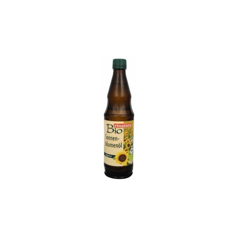 Slunečnicový olej za studena lisovaný Rinatura BIO - 500 ml