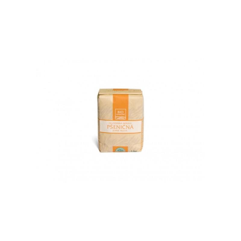 Pšeničná mouka celozrnná (jemně mletá) Bioharmonie BIO - 1 kg