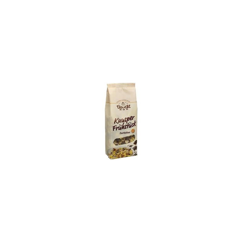 Bezlepkové čokoládové musli Bauck hof BIO - 300 g