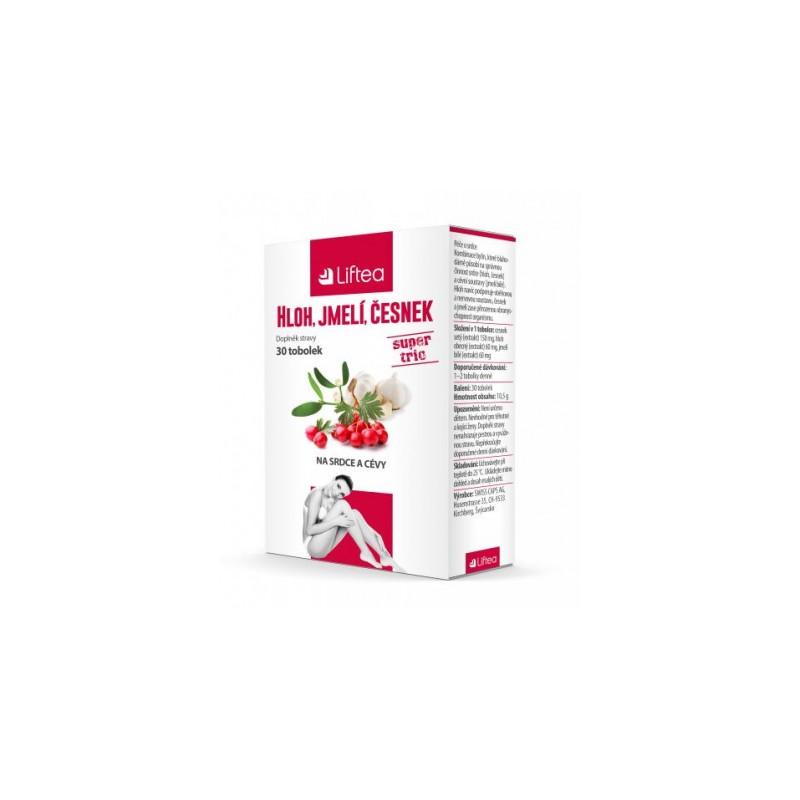 Liftea Hloh + jmelí + česnek Liftea - 30 tablet