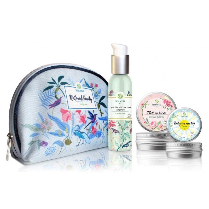 Pure beauty - sada přírodní kosmetiky pro ženskou krásu