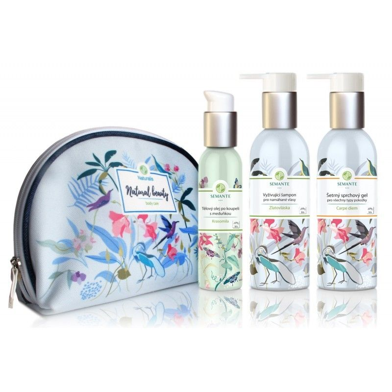 Znovuzrozená - sada přírodní kosmetiky do sprchy