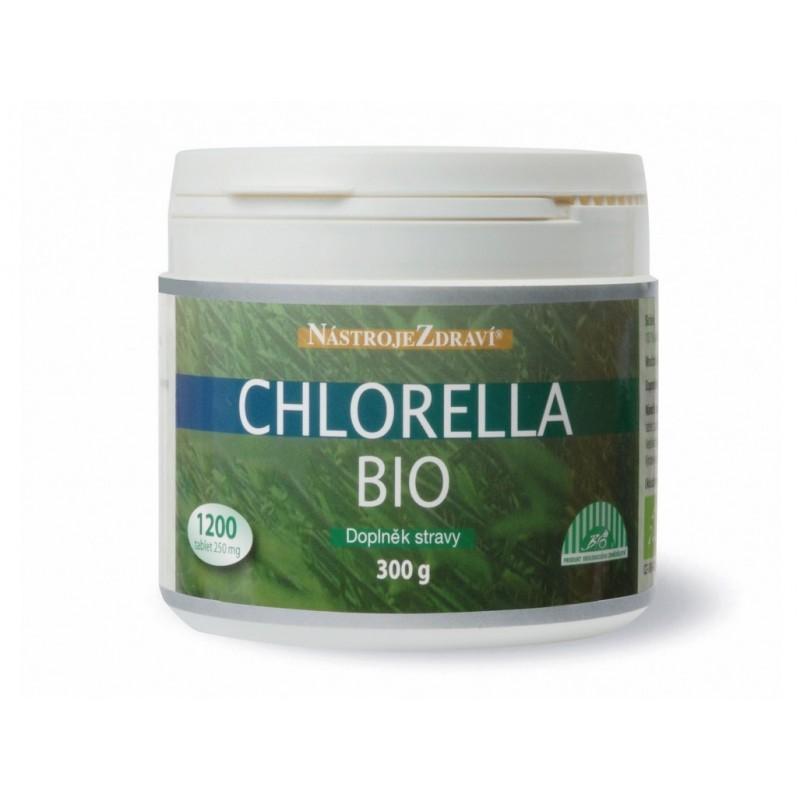 Chlorella Nástroje zdraví BIO - 300 g