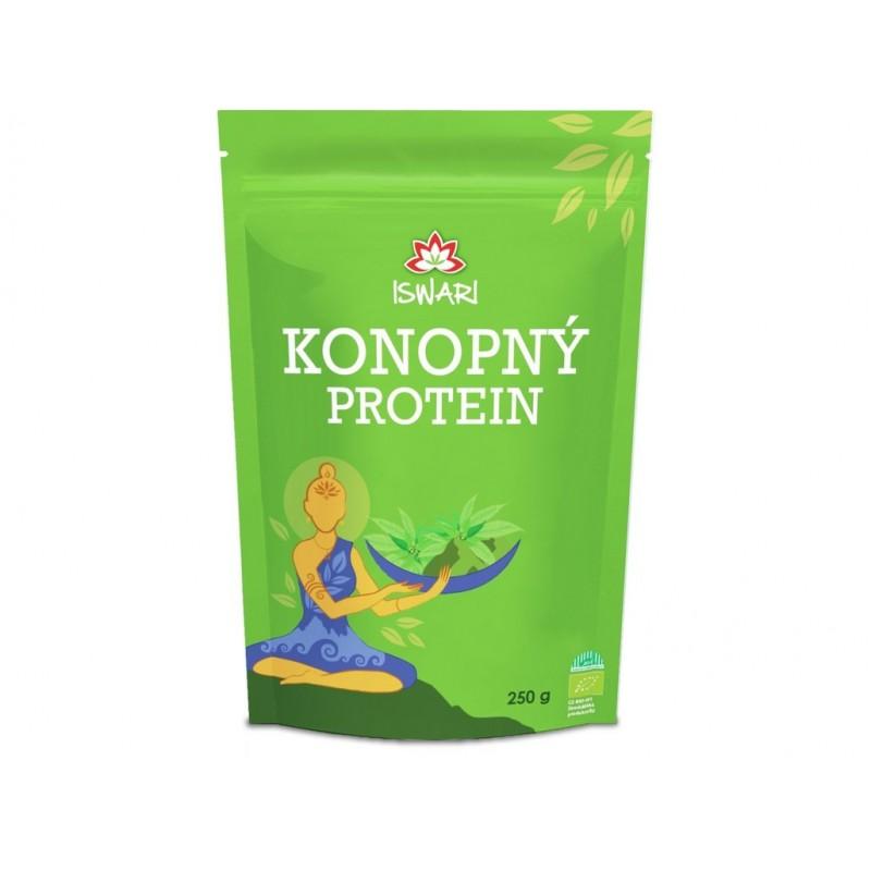 Konopný protein Iswari BIO - 250 g