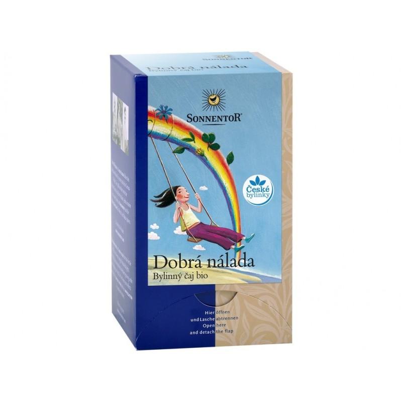 Dobrá nálada (bylinný čaj) Sonnentor BIO - 27 g (18 sáčků)