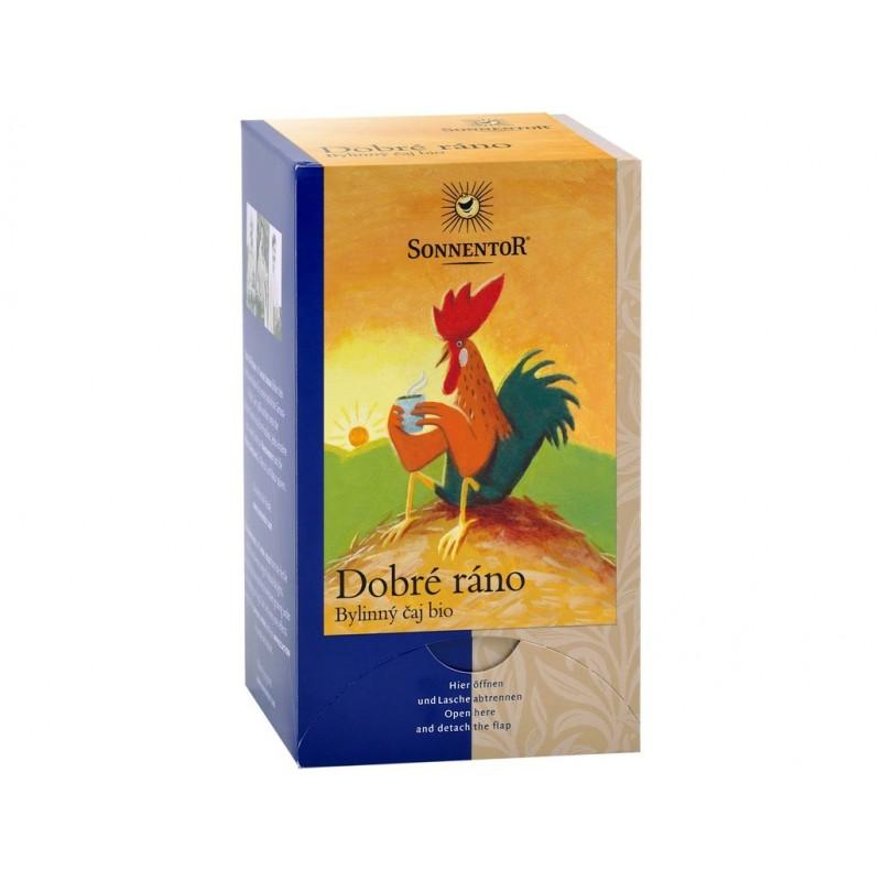 Dobré ráno (bylinný čaj) Sonnentor BIO - 27 g (18 sáčků)