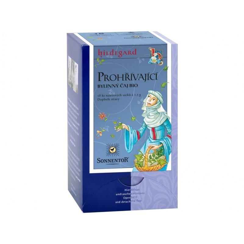 Prohřívací čaj Hildegarda (bylinný s kořením) Sonnentor BIO - 23 +4 g (30 sáčků)