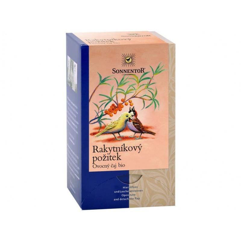 Rakytníkový požitek čaj Sonnentor BIO - 54 g (18 sáčků)