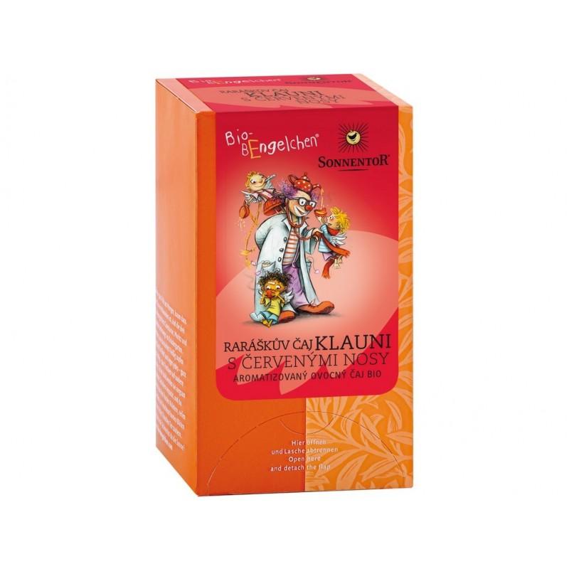 Raráškův čaj (klauni s červenými nosy) Sonnentor BIO - 40 g (20 sáčků)