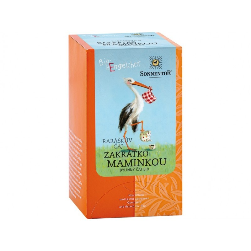 Raráškův čaj (zakrátko maminkou) Sonnentor BIO - 20 g (20 sáčků)