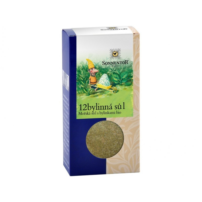 12-bylinná sůl Sonnentor BIO - 25g