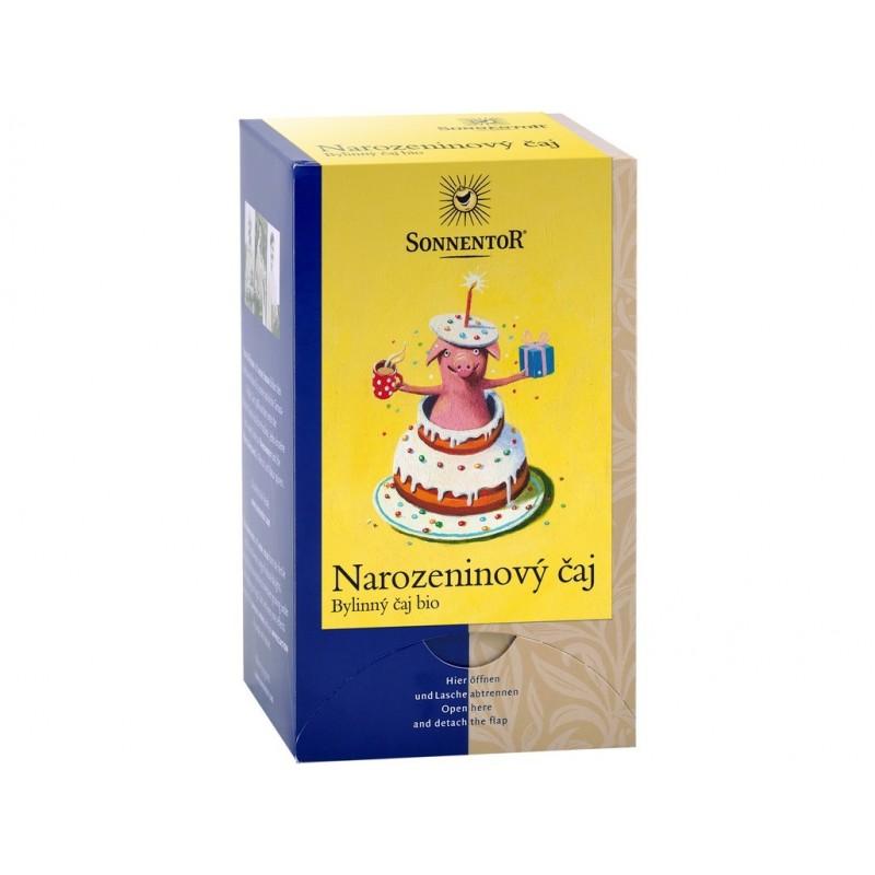 Narozeninový čaj Sonnentor BIO - 27 g