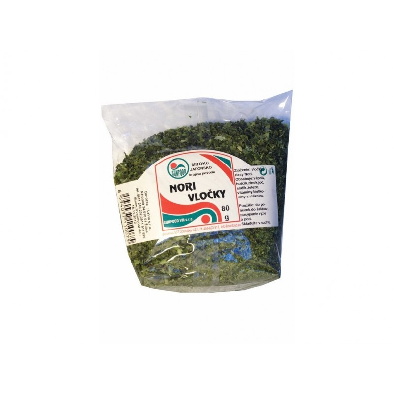 Nori (green vločky) Sunfood - 80 g