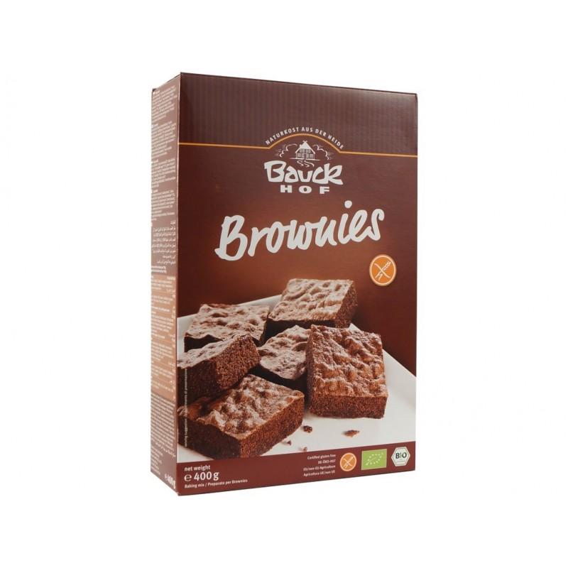 Brownies - čokoládový koláč bezlepková směs Bauck hof BIO - 400 g