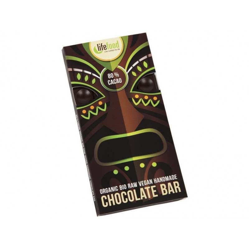 Chocolate 80 % Lifefood BIO - 70 g