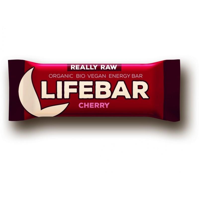 Tyčinka Lifebar třešňová Lifefood BIO - 47 g