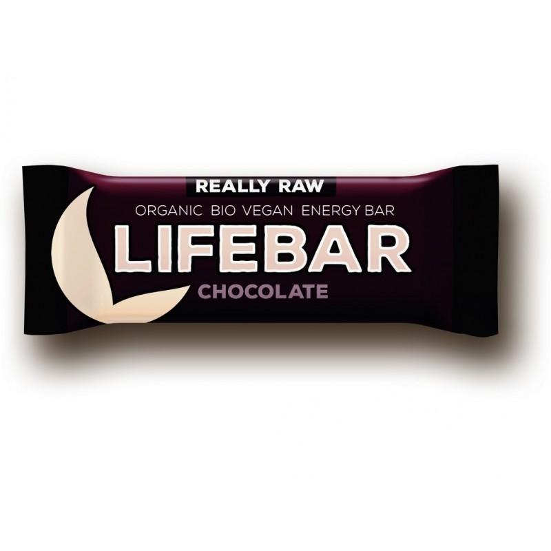 Tyčinka Lifebar čokoládová Lifefood BIO - 47 g