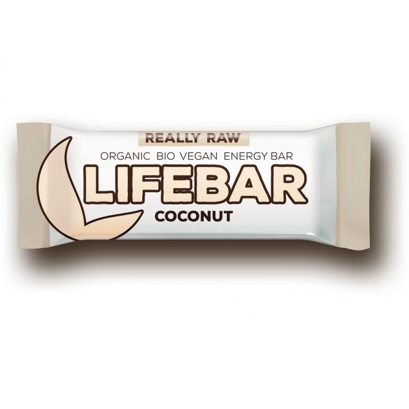 Tyčinka Lifebar kokosová Lifefood BIO - 47 g