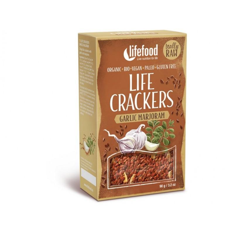 Life Crackers á la bramborák RAW Lifefood BIO - 90 g