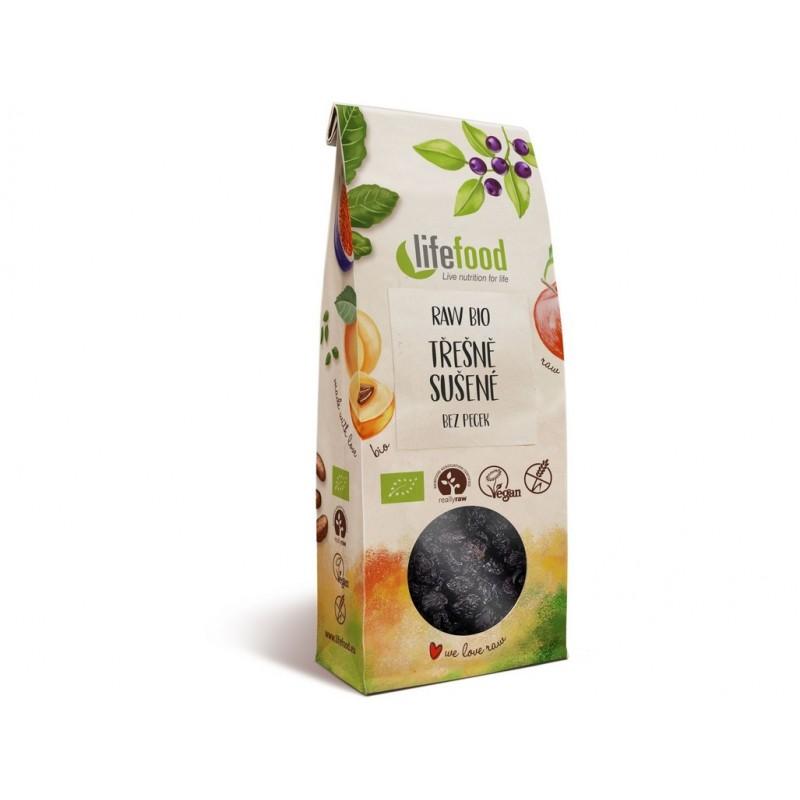 Sušené třešně Lifefood BIO - 100 g