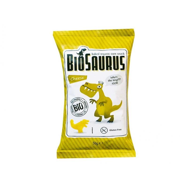 Křupky se sýrem Biosaurus BIO - 50 g