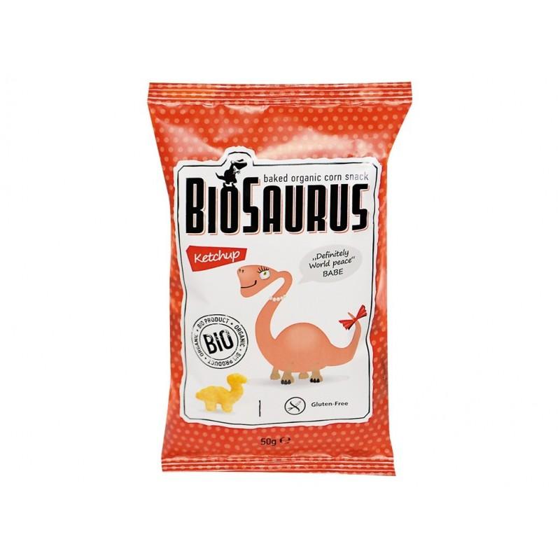 Křupky s kečupem Biosaurus BIO - 50 g