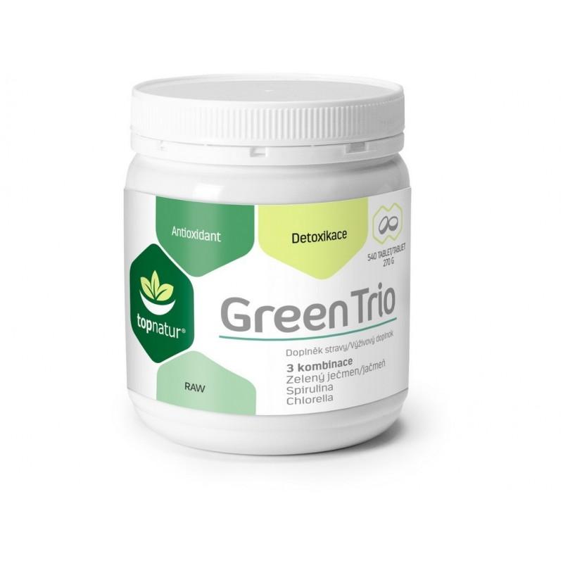 Green Trio Topnatur - 540 tablet