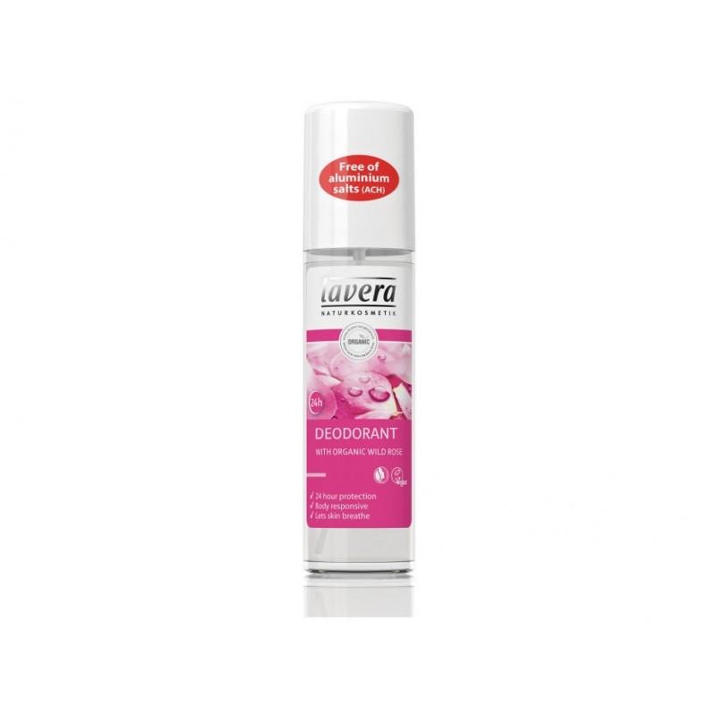 Svěží deo sprej (divoká růže) Lavera BIO - 75 ml