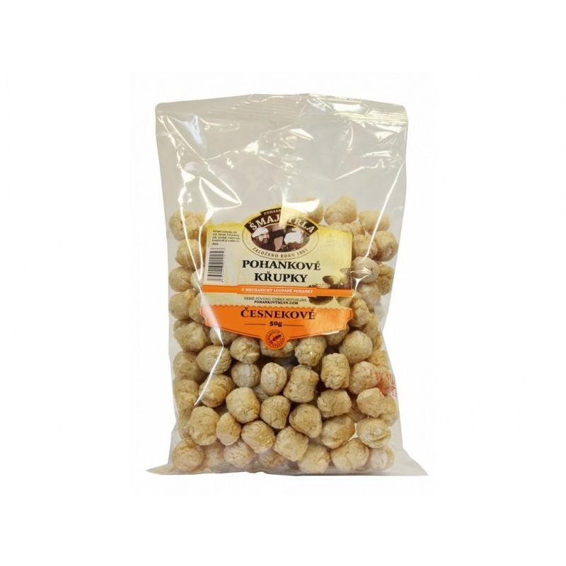 Pohankové křupky česnekové Šmajstrla - 50 g