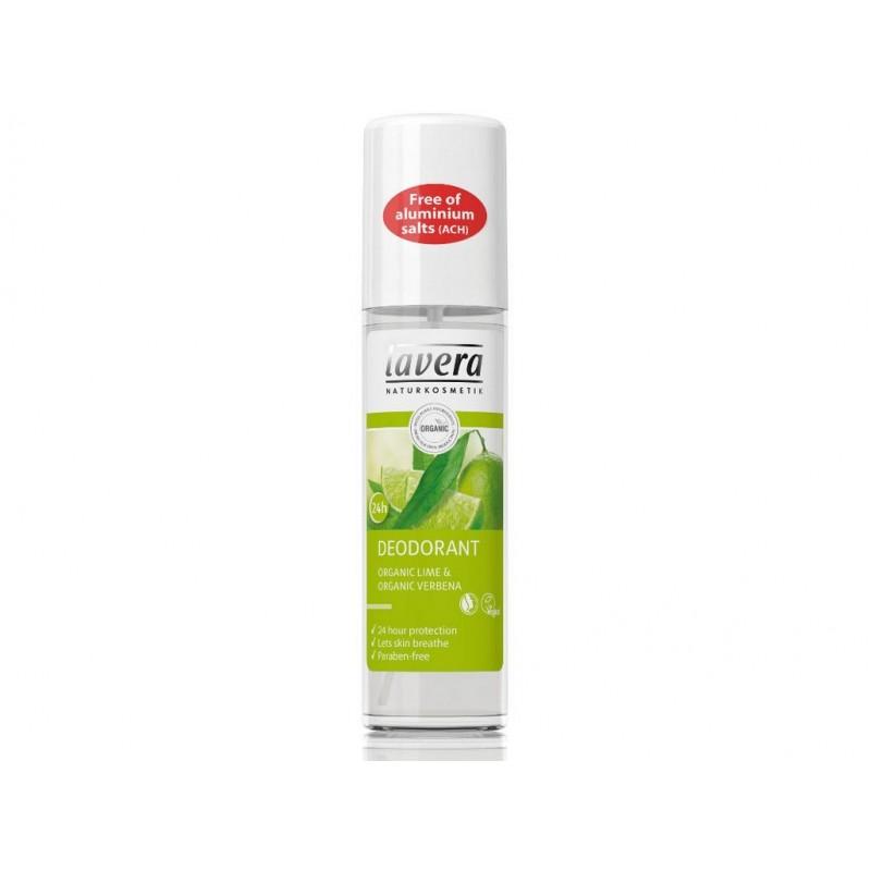 Svěží deo sprej verbena + limetka Lavera BIO - 75 ml