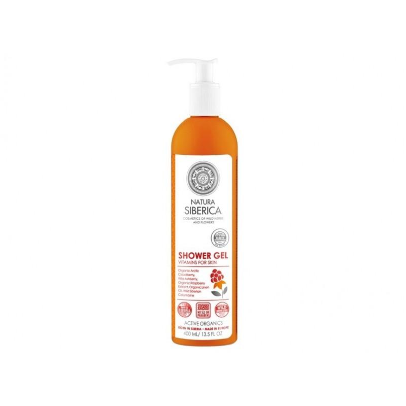 """Sprchový gel """"vitamíny pro pleť"""" Natura Siberica - 400 ml"""
