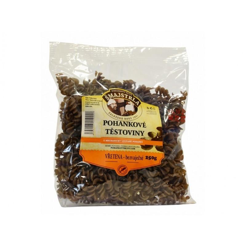 Pohankové těstoviny vřetena Šmajstrla - 250 g