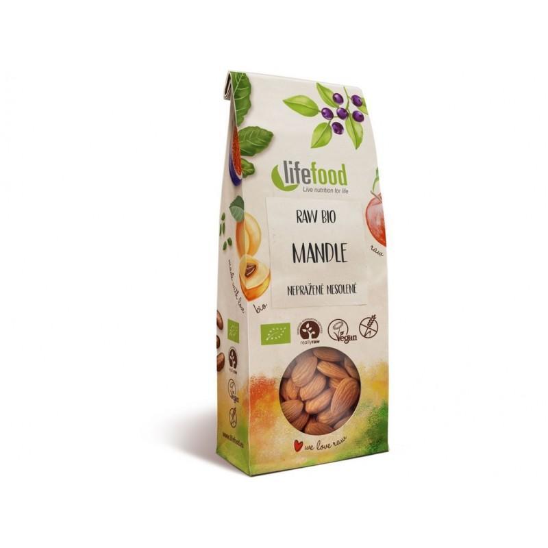 Mandle natural Lifefood BIO - 100 g