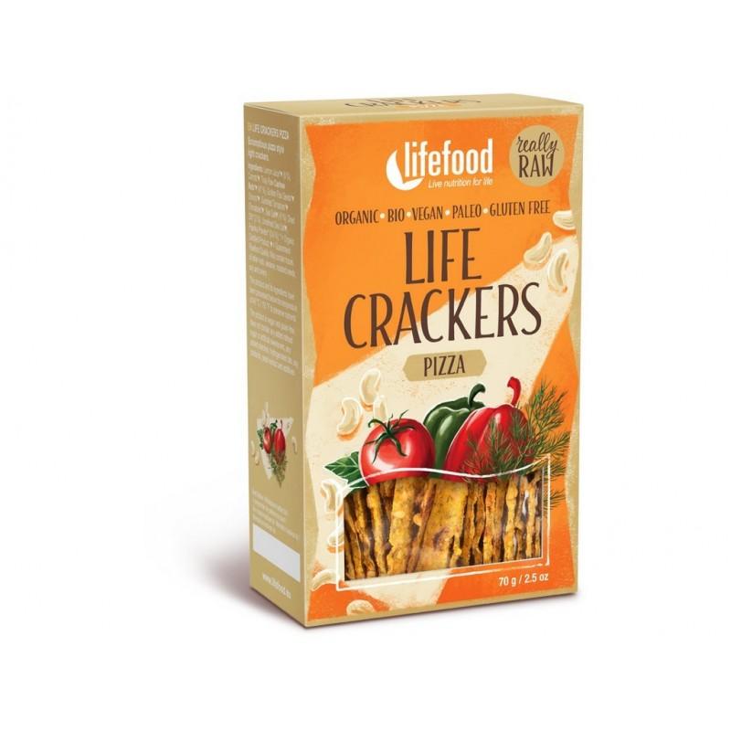 Life crackers á la pizza Lifefood BIO - 70 g