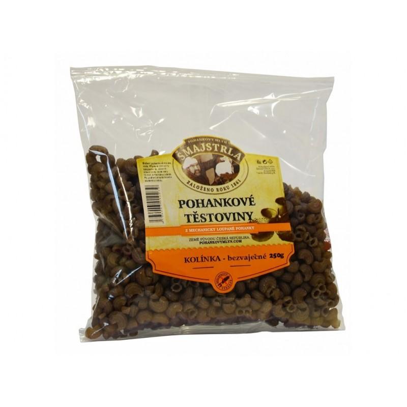 Pohankové těstoviny kolínka Šmajstrla - 250 g