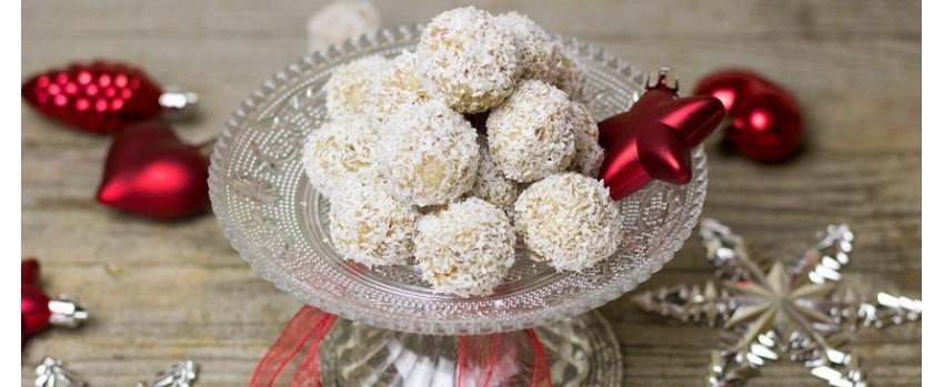 Bezlepkové kuličky z kokosu