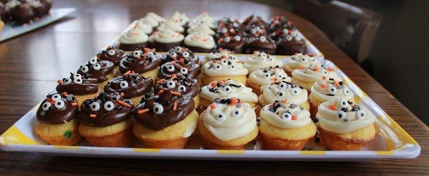 Dýňovo-skořicové cupcakes