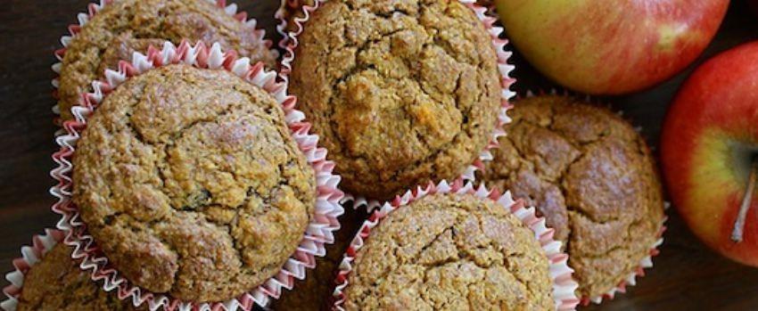 Mrkvovo-jablečné muffiny